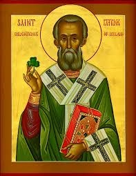 St. Patrick, Enlightener of Ireland, courtesy of the Orthodox Church in America (oca.org)